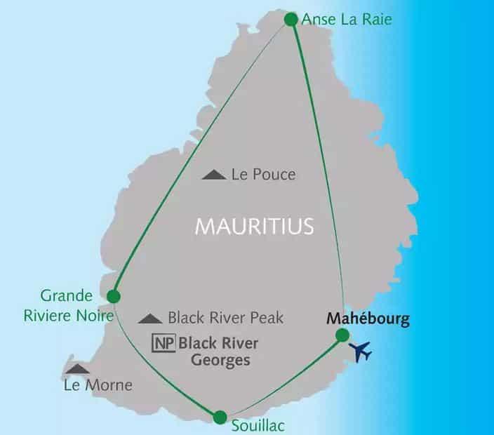 Mauritius Reise Akttivreise Grupprenreise Wandern